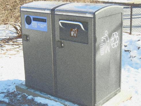 Solar Trash Compactor