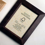 FSC logo on picture frames