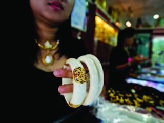 thai ivory bracelets