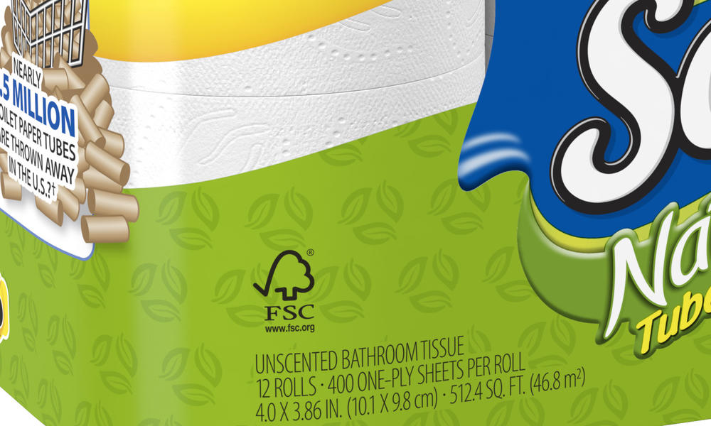 FSC logo on product
