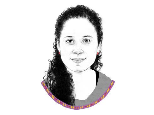 Portrait of Kabita Kunwar