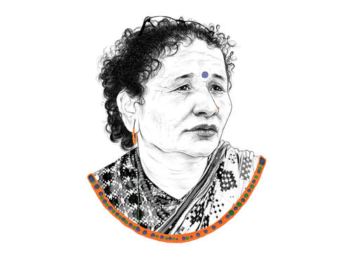 Portrait of Jalpa Bista