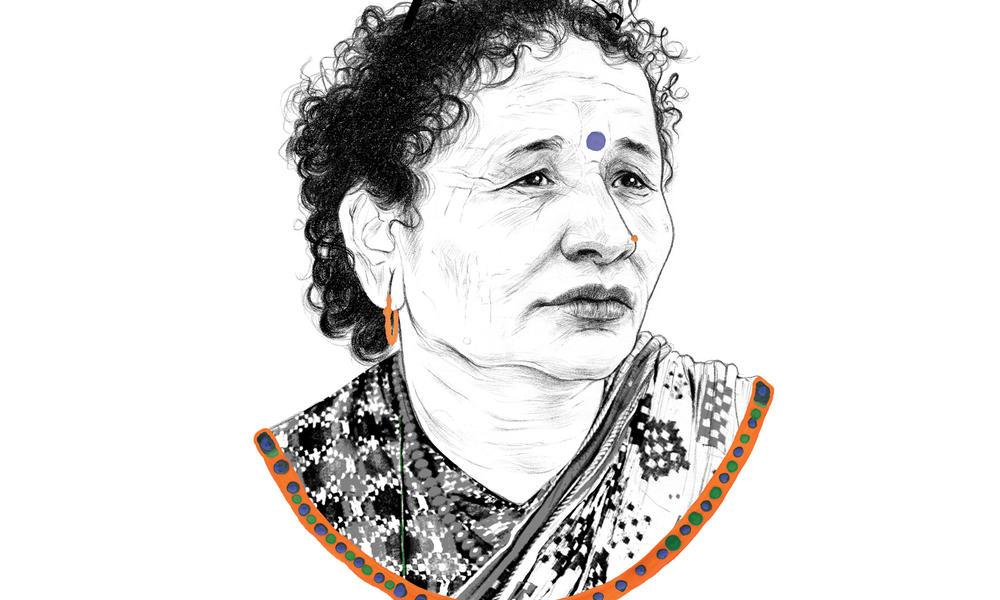 Portrait of Jalpa Bista
