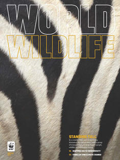 World Wildlife Magazine Winter 2014 cover