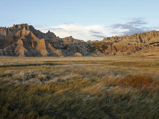 Landscape of Badlands National Park, South Dakota.