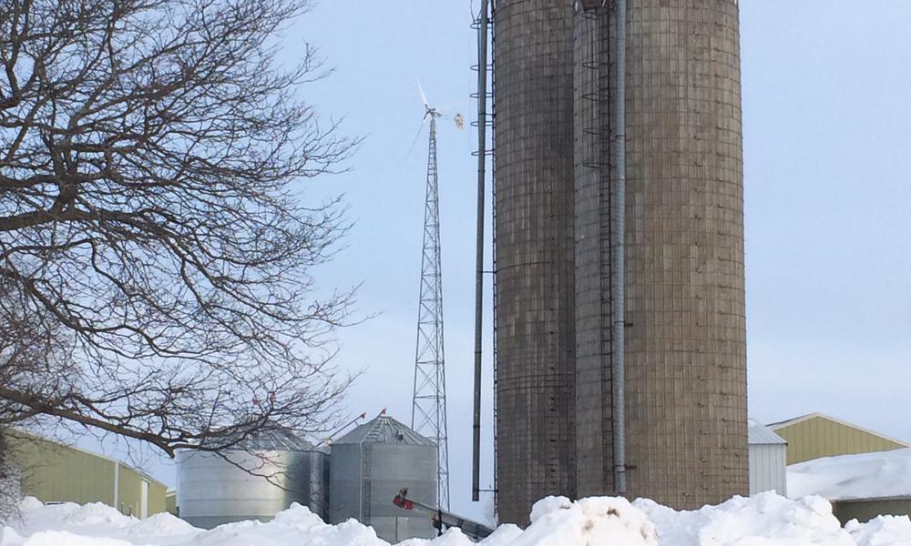Windmill on the Marshik Dairy