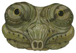 Cantor's Giant Softshell Turtle illustration