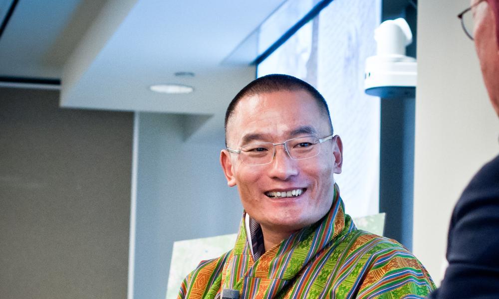 Bhutan pm wwf reed sandridge