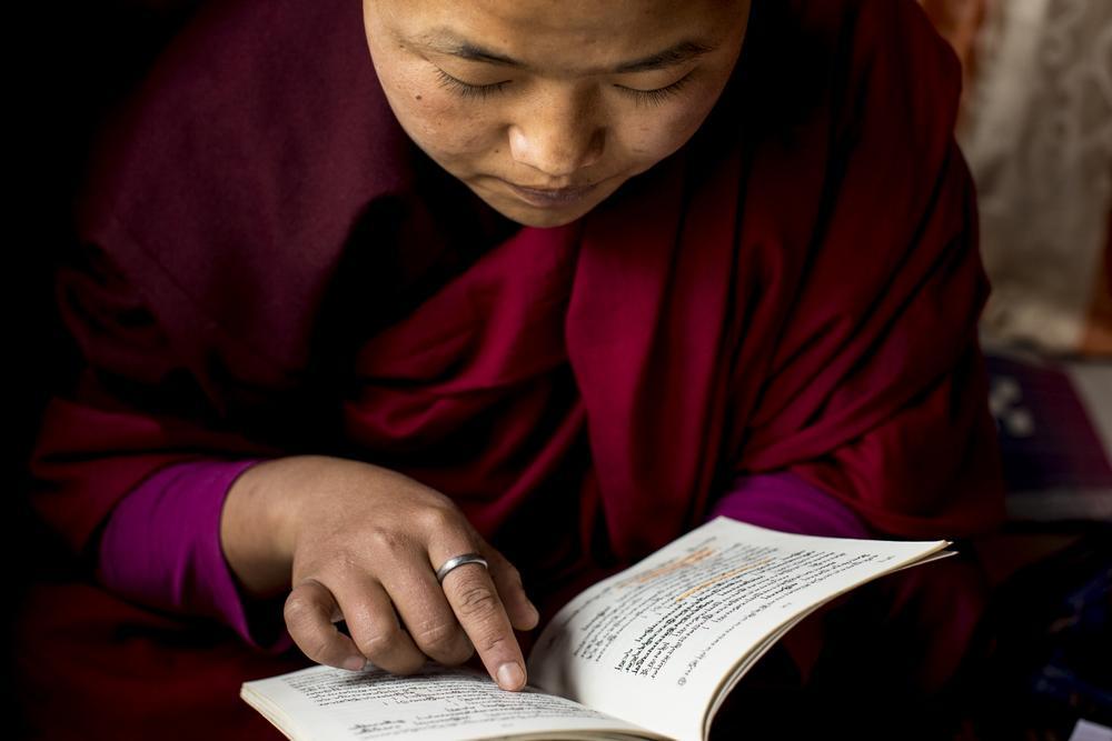 Buddhist nun Jigme Wangmo