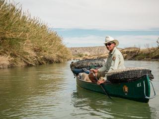 mike ryan in canoe