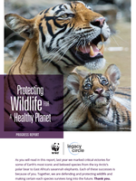 Protecting Wildlife for a Healthy Planet Brochure