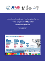 International Snow Leopard and Ecosystem Forum: Presentation Abstracts Brochure