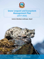Snow Leopard and Ecosystem Management Plan (2017-2026) Brochure