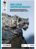 Snow Leopard Conservation Highlights – Conservation and Adaptation in Asia's High Mountain Landscapes and Communities Project Brochure
