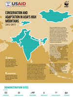 Conservation and Adaptation in Asia's High Mountains (2012-2017) Brochure
