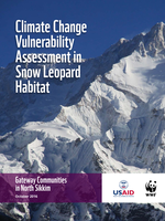 Climate Change Vulnerability Assessment in Snow Leopard Habitat: Gateway Communities in North Sikkim Brochure