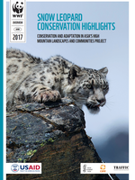 Snow Leopard Conservation Highlights Brochure