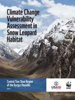 Climate Change Vulnerability Assessment in Snow Leopard Habitat: Central Tian Shan Region of the Kyrgyz Republic Brochure