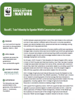 Uganda Wildlife Fellowship Guidelines 2019 Brochure