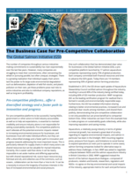 The Business Case for Pre-Competitive Collaboration: The Global Salmon Initiative (GSI) Publication Cover