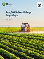 Ceres/WWF AgWater Challenge Progress Report Brochure