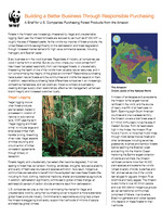 A Brief for U.S. Companies Purchasing Forest Products from the Amazon Brochure