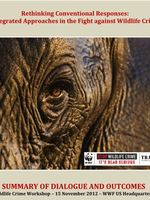 Wildlife Crime Experts Workshop: Summary Document Brochure
