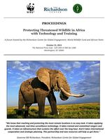 Protecting Threatened Wildlife in Africa with Technology and Training Brochure