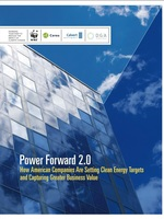 Power Forward 2.0: How American Companies Are Setting Clean Energy Targets and Capturing Greater Business Value Brochure