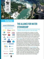 The Alliance for Water Stewardship: Briefing Paper Brochure