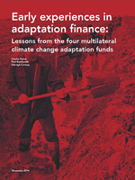 Early Experiences in Adaptation Finance Brochure