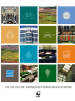 Sustainability at the WWF Building Brochure