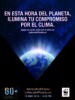 La Hora del Planeta Poster Brochure