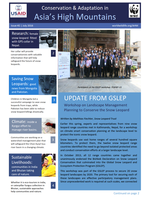 Asia High Mountains Newsletter: Issue 2 Brochure