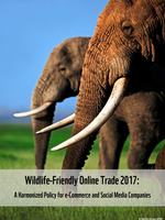 Wildlife-Friendly Online Trade 2017: A Harmonized Policy for e-Commerce and Social Media Companies  Brochure